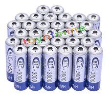 32x AA 2A 1,2 V 3000mAh Ni-MH BTY batería recargable para MP3 RC Juguetes Cámara