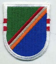 Vintage US Army 75th Ranger Regiment 2nd Bn Airborne Flash Patch Cut Edge