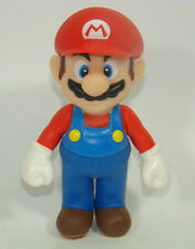 Super Mario Brothers Red Hat Mario Action Figure Plastic Toy 11CM