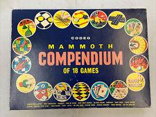 Vintage Codeg Mammoth Compedium Of 18 Games
