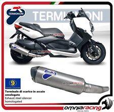 Termignoni RELEVANCE Tubo de Escape acero racing Yamaha Xmax 400 2010>2017