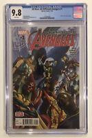 All-New, All-Different Avengers #1 CGC 9.8 Alex Ross cover Adam Kubert MARK WAID