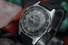 Vintage WALTHAM Electrodyne Stainless Steel Skin Diver Men's Watch