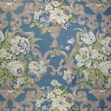 P Kaufmann ASHMONT COPEN Floral Home Decor Drapery Upholstery Sewing Fabric