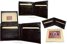 Lot of 3 Men's wallet Billfold Leather Wallet 9 card Brown leather wallet in box