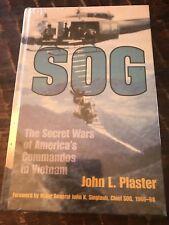 SOG The Secret Wars Of America's Commandos In Vietnam HARDCOVER