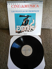 "LAS PELICULAS DE PREMINGER SOUNDTRACK LP VINILO VINYL 12"" 1987 VG+/VG+ CSP"
