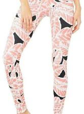 ALO Engineered AIrbrush Legging $110 Palm Springs Pink Coral Black Pant Small S