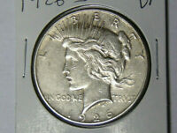 1926-S Peace Silver Dollar VF San Francisco Mint (10918)