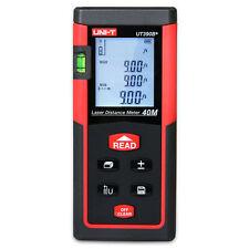 UNI-T 40m/131ft Digital Laser Distance Meter Range Finder Area Volume Measurer