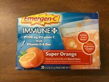 Emergen-C Immune Plus Super Orange Dietary Supplement - 30 Count