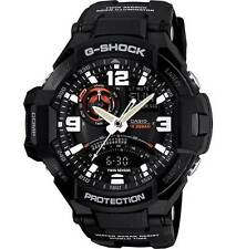 CASIO G-Shock Watch 200M W/Res G-Aviation Twin Sensor Digital Compass GA1000-1A
