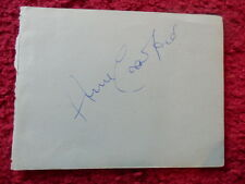 ACTRESS ANNE CRAWFORD AUTOGRAPH