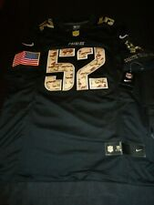 Green Bay Packers Clay Matthew Black Camo Salute Service Mens Small Nike Jersey