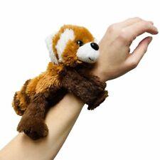 Huggers Plush Red Panda Slap Bracelet Stuffed Animal Toy by Wild Republic
