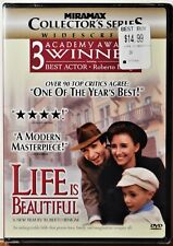 Dvd Life is Beautiful Sealed New Family Feel-Good Extra Movies Ship Free