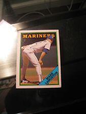Mariners Mark Langston 1988 Topps Baseball Card #80 Modern (1981-Now) Original