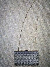 Bulaggi Brown Tribal print clutch / evening bag BNWOT