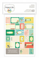 Becky Higgins Project Life SPRING 60-PACK Themed Cards scrapbooking 380231