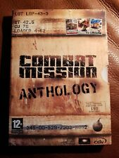 Combat Mission Anthology (PC); Great war Game in very good condition.4 disc