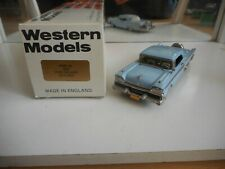 Western Models 1959 Ford Galaxie Skyliner in Light Blue on 1:43 in Box