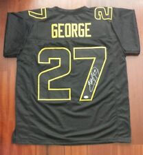 Eddie George Autographed Signed Jersey NFL Super Bowl 50 Edition Buckeyes JSA