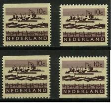 Nederland 794G-794H/794bG-794bH Deltazegels uit postzegelboekjes POSTFRIS MNH