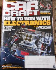 CAR CRAFT MAGAZINE Oct. 2016- How to win with Electronics, Easy A.C. Install