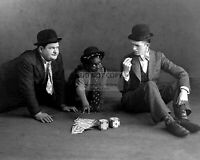 STAN LAUREL AND OLIVER HARDY - 8X10 PUBLICITY PHOTO (AB-657)