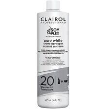 Clairol Professional Pure White Creme Developer, Standard Lift [20] 16 oz
