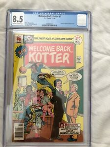 Welcome Back Kotter #1--CGC 8.5--First issue of this DC Television comic!