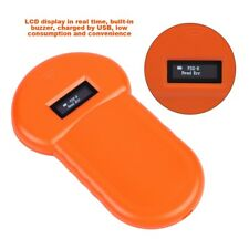 Portable RFID 134.2Khz Animal Pet Microchip ID Recognition Reader Tag Scanner