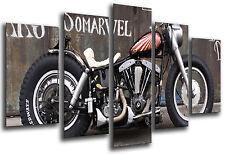 Bild moderne Motorrad Harley Davidson, Motorrad Antigua vintage, REF. 26552
