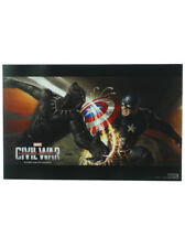 Captain America Civil War SDCC Exclusive Concept Artwork Promo Poster Marvel