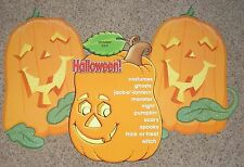 Teacher Resource: Halloween Pumpkins Bulletin Board Set