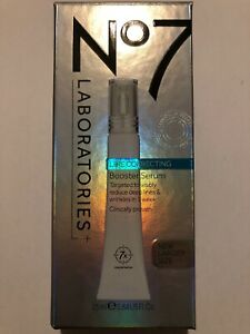 BOOTS NO7 LABORATORIES LINE CORRECTING BOOSTER SERUM - 25ML - NEW & SEALED
