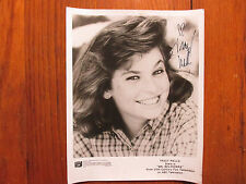 "TRACY  WELLS (""Mr.  Belvedere/Heather  Owens"") Signed 8 X 10  B & W Glossy Photo"