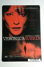 VERONICA GUERIN CATE BLANCHETTE COVER ART MINI POSTER BACKER CARD (NOT a movie)