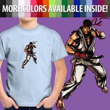 Street Fighter Ryu Classic Capcom Arcade Game Hero Toddler Kid Tee Youth T-Shirt