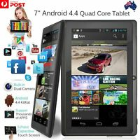 7 Inch Android4.4 Quad Core Dual Camera Tablet 8GB Bluetooth Wifi Tablet Gift GV
