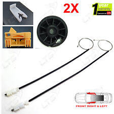 2X RENAULT CLIO MK2 ELECTRIC WINDOW REGULATOR REPAIR KIT FRONT LEFT AND RIGHT