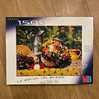 Puzzle 1500 pièces ❤️ Le plaisir du puzzle - MB - Senteurs d'été - Complet