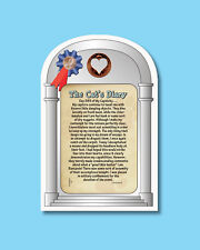 """""""The Cat's Diary"""" Humorous Verse Card w/ Heart Penny - sku# 114"""