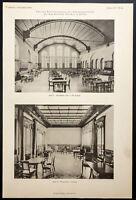 1904 - Hallen D'Attentes Der Bahnhof Stettin (Berlin, Gare Du Nord )