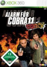 Xbox 360 ALARM FÜR COBRA 11 BURNING WHEELS * DEUTSCH * Top Zustand