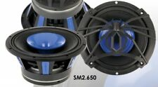"Pair of Soundstream SM2.650 250 Watt 6.5"" PRO Mid Bass Speakers Horn Tweeter"
