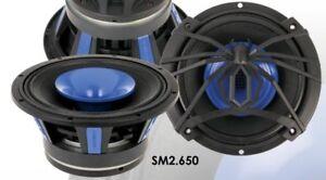 """Pair of Soundstream SM2.650 250 Watt 6.5"""" PRO Mid Bass Speakers Horn Tweeter"""