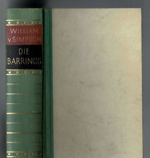 William von Simpson - Die Barrings - 1953