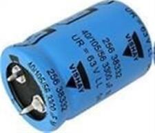 5) Aluminum Electrolytic Capacitors - Snap In 6800uF 50V 25x40