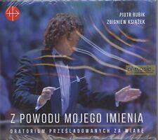 = PIOTR RUBIK / ZBIGNIEW KSIAZEK - Z POWODU MOJEGO IMIENIA  /2CD sealed digipack